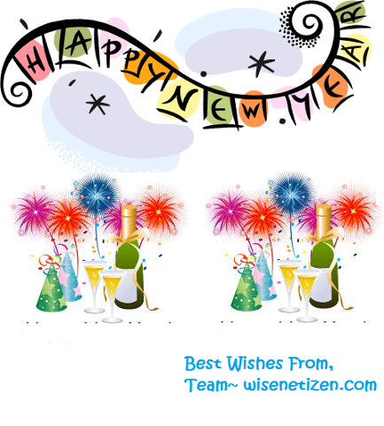 Happy New Year , best wishes from WIsenetizen.com